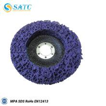 Limpe e retire o disco para polir