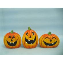 Arts et métiers en céramique de citrouille de Halloween (LOE2375-A9.5)