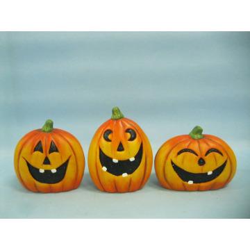 Halloween Pumpkin Ceramic Arts and Crafts (LOE2375-A9.5)