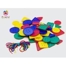 Matériel d'éducation préscolaire de maternelle Boutons de lacage / Jouet pour enfants (K005)