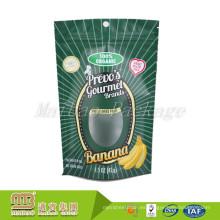 Eco que se puede sellar que se puede sellar para requisitos particulares empaquetadora de alimentos del plástico con el Ziplock