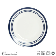 26.5cm Porcelain Dinner Plate with Decal Pop Style Design