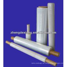 Película estirada del embalaje de paleta manual del PE / Película del estiramiento del abrigo de paleta de LLDPE