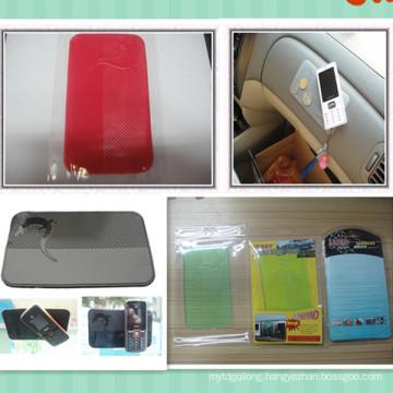 New design Sticky cell phone sticky pad gecko nano anti slip sticky pad