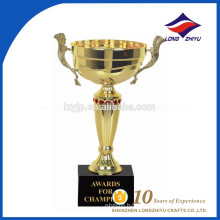 Chinese factory Custom special decorative gold trophy