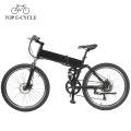 Top E-cycle 26inch folding electric mountain electric charging bikes