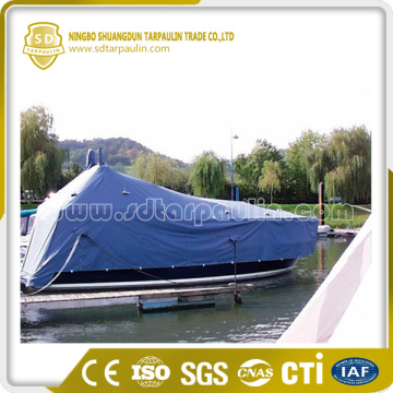 Waterproof PVC Boat Cover Blue Cover