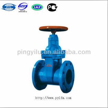 Grey iron non-rising stem soft sealing gate valves Z45X-10