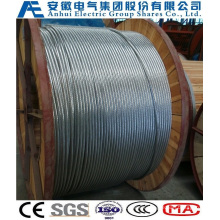 7no. 7AWG, Concentric-Lay-Stranded Aluminum-Clad Steel Conductors, as Wire