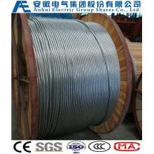 7no. 7AWG, Concentric-Lay-Stranded Алюминиевые плакированные стальные проводники, как проволока