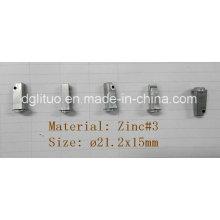 Iluminação LED Peças de metal / Liga de zinco Die Casting Peças pequenas