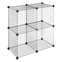 vivinature wire storage cubes with black color