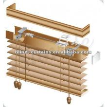 Jalousie Handbedienung stilvoll Holz