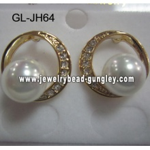 fashion shell pear earrings for wedding