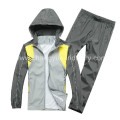 polyester and spandex dr fit material for the sports jackets with sportsman new design