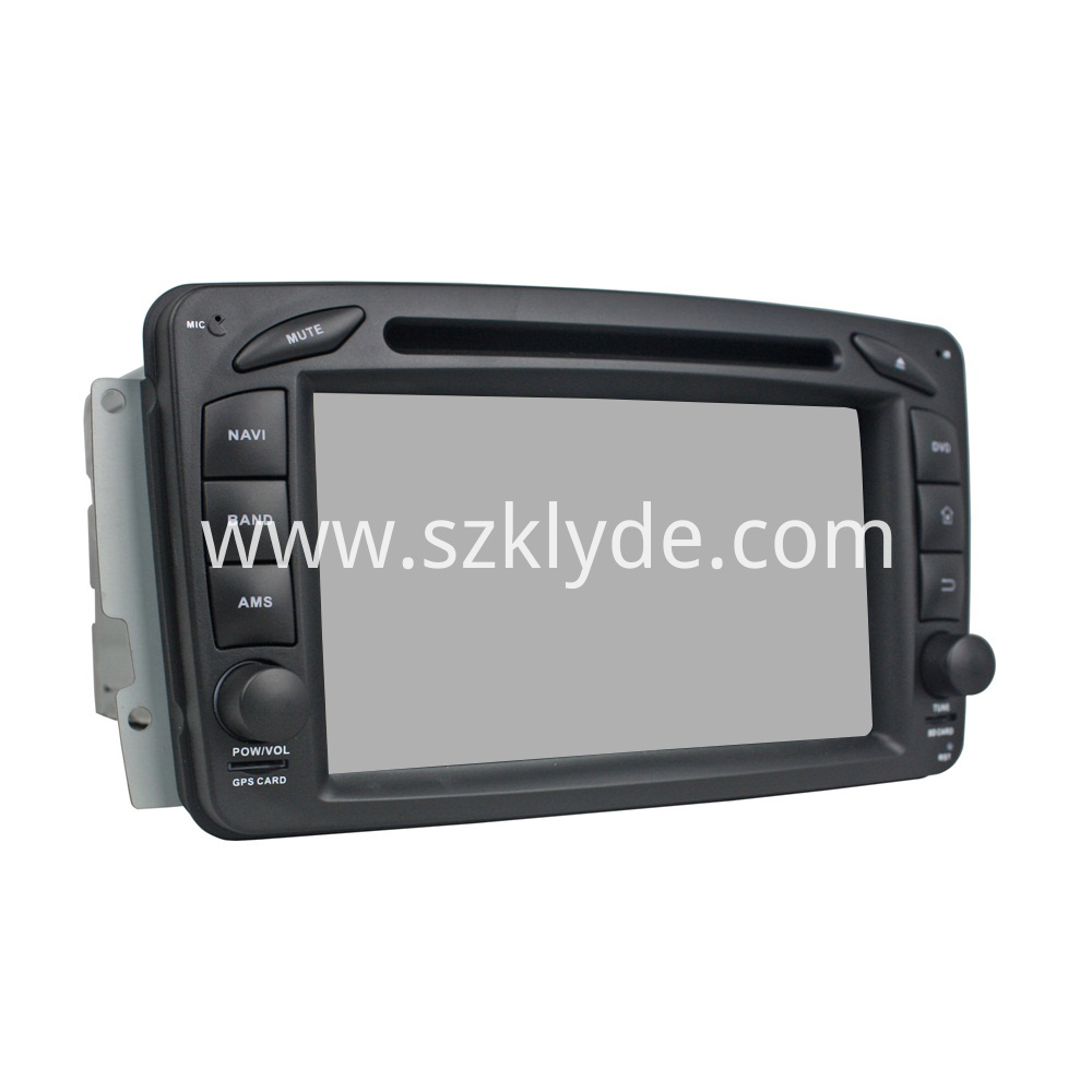 android car multimedia system for W209