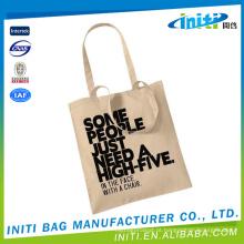 Melhor venda de novos produtos quentes para 2015 novos produtos 2015 unbleached saco de algodão orgânico