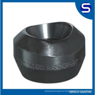 ASTM B16.11 a105 threadolet de acero al carbono
