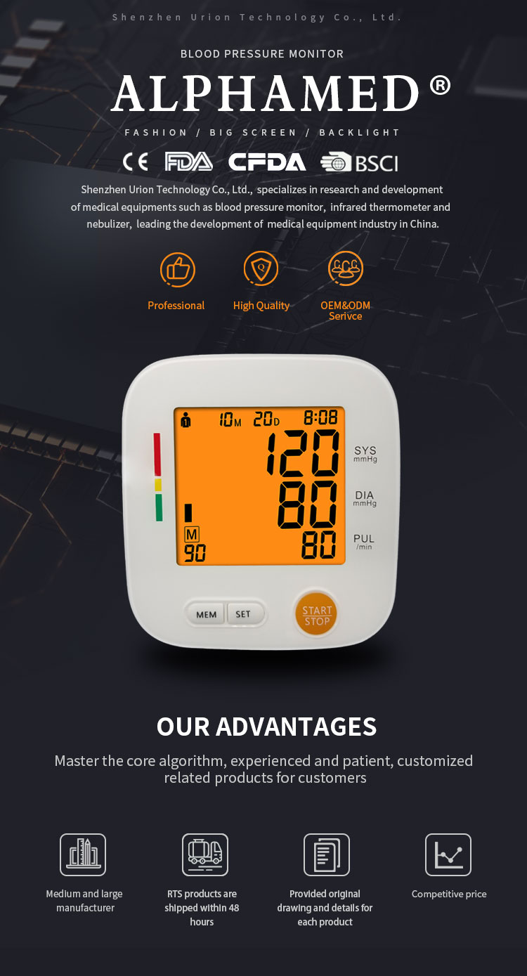 bp machine digital blood pressure monitor