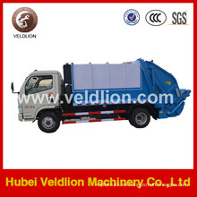4 * 2 Dongfeng Purchctor Camión de basura