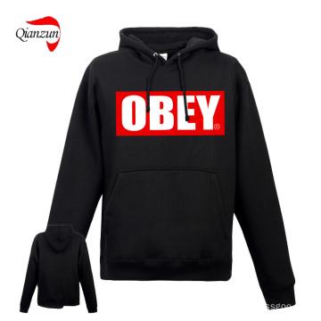 Custom Obey Hoody Puentes con el bolsillo (ZN-08-01)