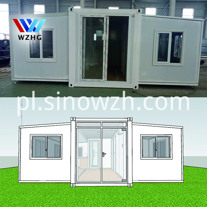 expandable container house 15