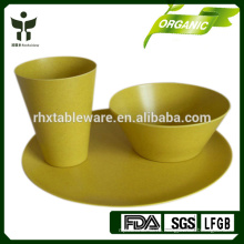 Набор многоразовых столовых приборов из бамбука
