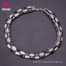 2016 Dernières Bracelets populaires en or blanc Design