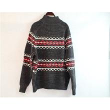 Pull à col roulé tricoté à manches longues pour vêtements d'hiver