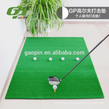 High Quality PP grass+ EVA Black rubber golf hitting mat can be customized
