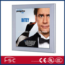 Crystal led panel light box with aluminum frame and best price