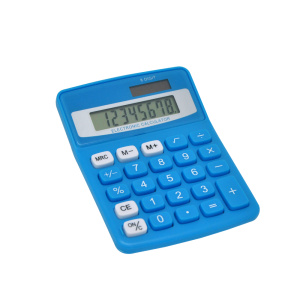 Office Desks Calculator12 Digits Dual Power Calculator