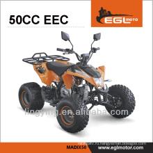 50cc спортивный Квадроцикл с ЕЭС Сертификат kart ребенком