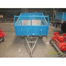 remorque agricole / tracteur benne remorque / équipement agricole