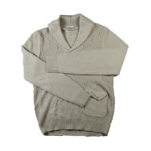2015 Fall Gentlemen's Fashion Angora Wool Pullover Jacquard Diamond Stitch Shawl Sweater