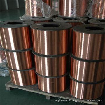 Condutividade 21% Iacs-45% Iacs Fio de aço revestido de cobre CCS