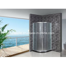 Porta de chuveiro de vidro ácido sem bandeja (AS-906)