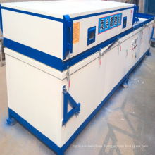 pvc foil vacuum membrane press machine