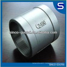Raccord de tuyau de bâti d'acier inoxydable / coude, té, réducteur, couplage rapide