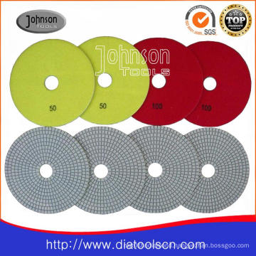 150mm Diamond White Wet Polishing Pad