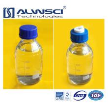 Botella de reactivo de tapa de rosca azul de vidrio transparente de 250 ml