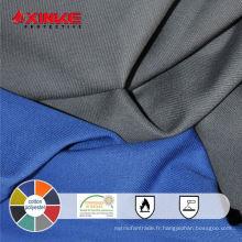 Tissu anti-rayonnement ultraviolet fonctionnel T / C pour vêtements de travail protecteurs