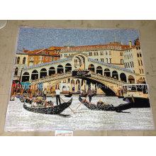Kunstwerk Mosaik, Mosaik Wandbild, Künstlerisches Mosaik für Mauer (HMP826)