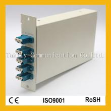 1310 Mux / Demux Adaptador LC CATV FTTH Soporte de montaje Fibra Óptica CWDM