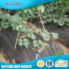 China Lieferanten Telas Bio Degradable Black Mulching Film