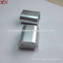 Haute qualité us type manches ovales en aluminium