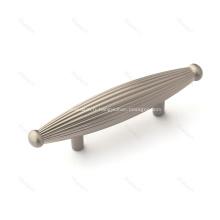 Poignée de meubles de bouton de cuisine d'armoire en alliage de zinc