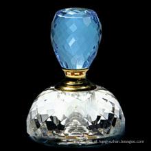 Frasco de perfume de cristal azul do carro do lago 4ml (JD-XSP-100)