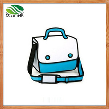 New Designer Fashion Cartoon 2d/3D Tote Handbag