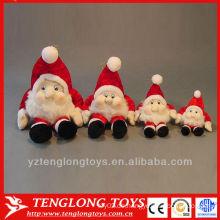 Maßgeschneiderte Werbegeschenk Plüsch Weihnachten Sankt Spielzeug